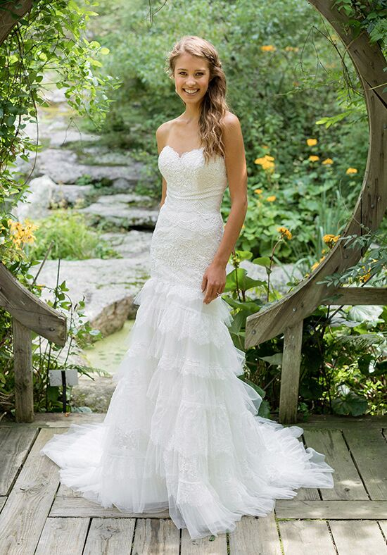 Lillian West 66003 Mermaid Wedding Dress