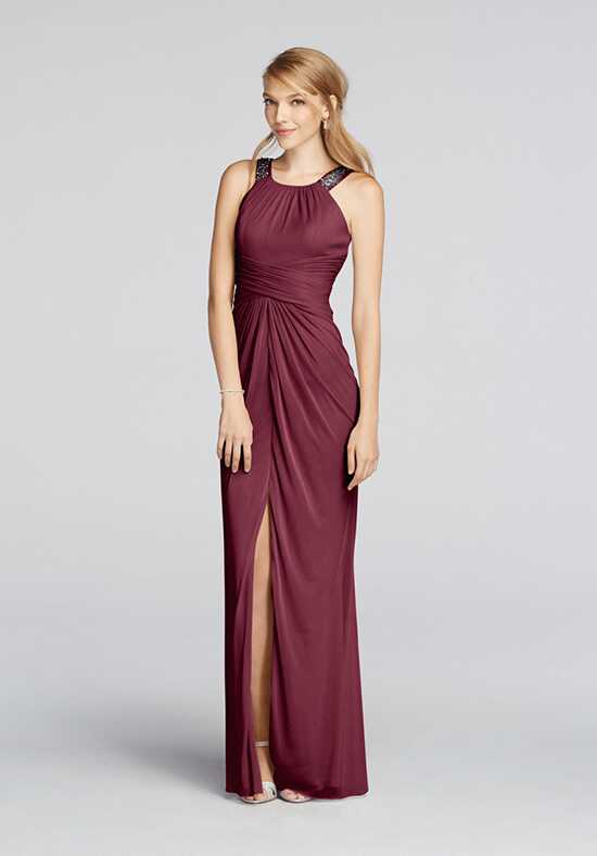 David's Bridal Collection David's Bridal Style F17093 Halter Bridesmaid Dress