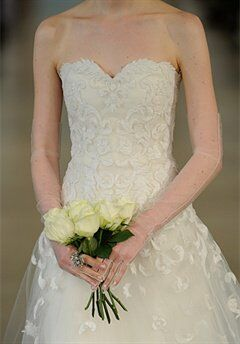 Oscar de la Renta Bridal 2014 Look 20 A-Line Wedding Dress