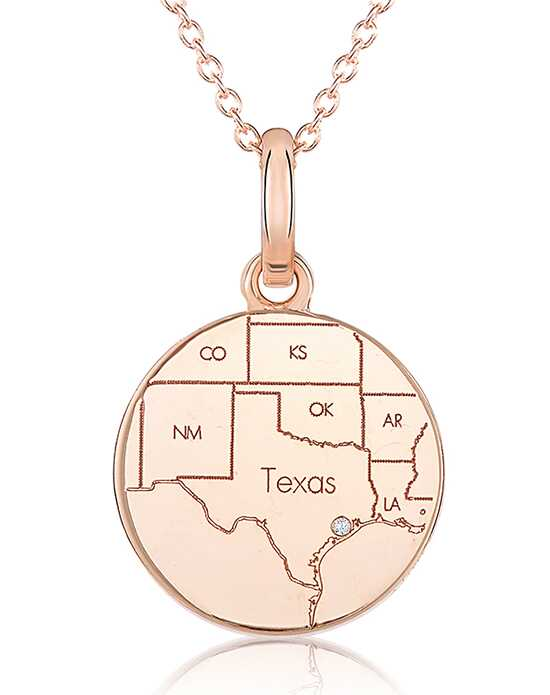 A.JAFFE Maps MAPP002 Wedding Necklace photo