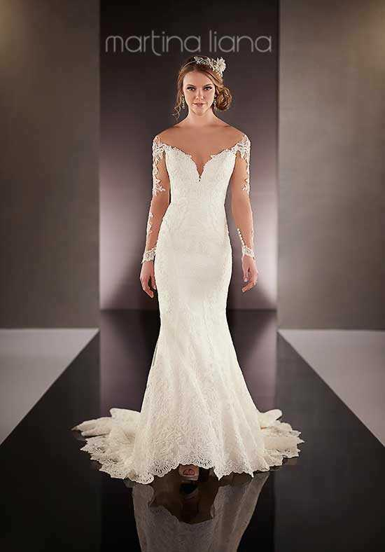Martina Liana 723 Mermaid Wedding Dress