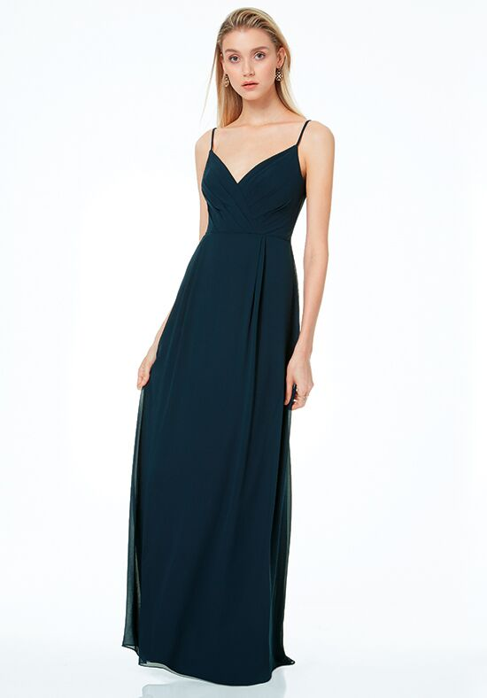 #LEVKOFF 7035 V-Neck Bridesmaid Dress