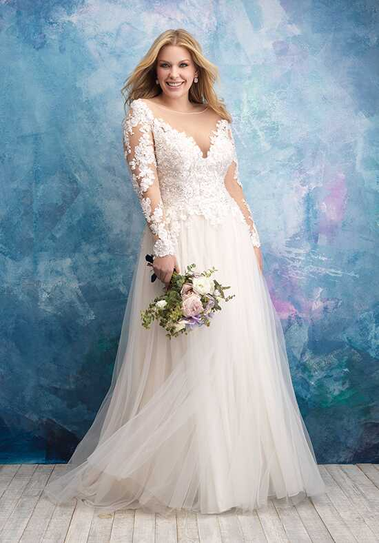 Allure Women W435 A-Line Wedding Dress