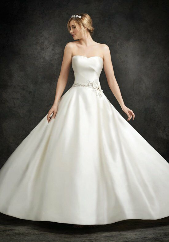 Ella Rosa BE229 Ball Gown Wedding Dress