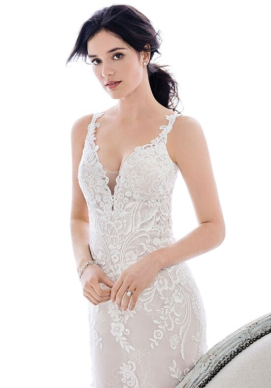 Kenneth Winston: Ella Rosa Collection BE406 A-Line Wedding Dress