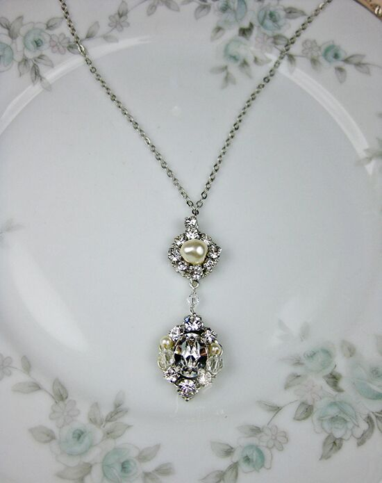 Everything Angelic Eva Pendant Necklace - n346 Wedding Necklace photo