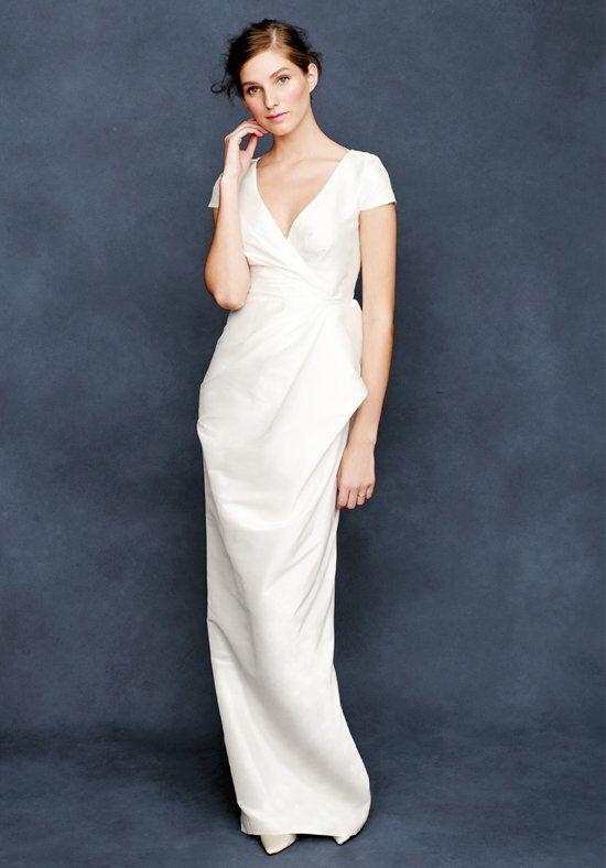 J. Crew Weddings & Parties Carson Gown in Silk Dupioni Wedding Dress ...