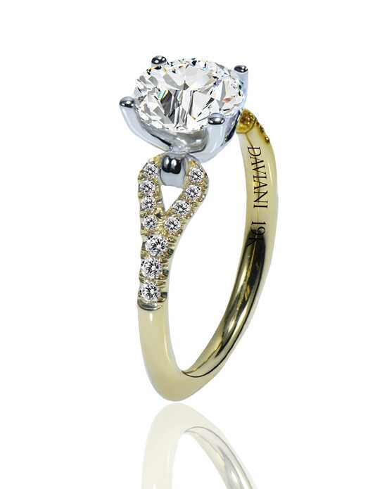 Daviani Love Links Collection DCR1205 Engagement Ring photo