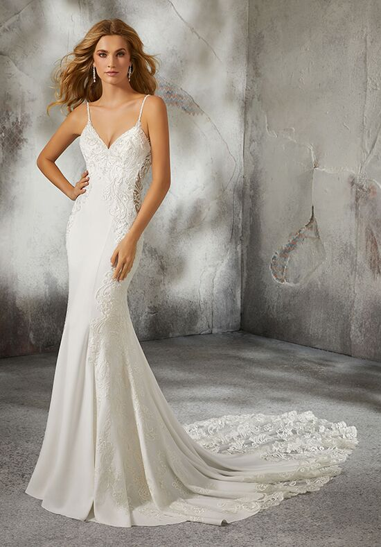 Morilee by Madeline Gardner 8283 / Lizzie Sheath Wedding Dress