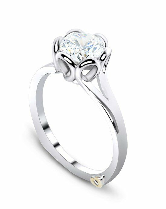 Mark Schneider Design Engagement Rings Petal 17460 Engagement Ring