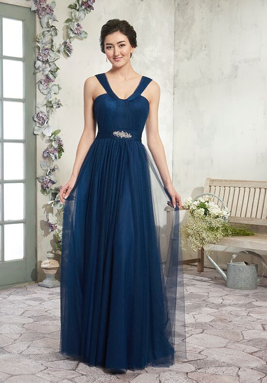 Amalia by Mary's Bridal MB7011 V-Neck Bridesmaid Dress