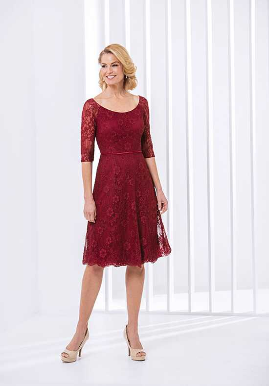 Jasmine Black Label M180056 Red Mother Of The Bride Dress