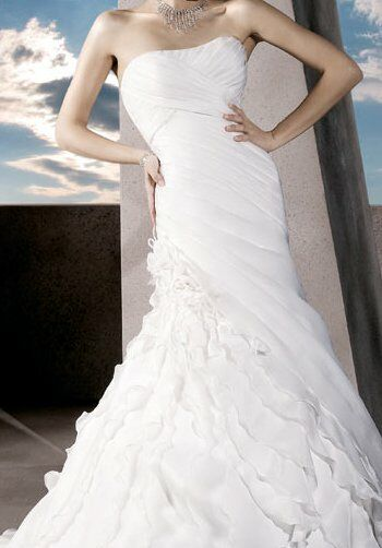 Demetrios 3174 Mermaid Wedding Dress