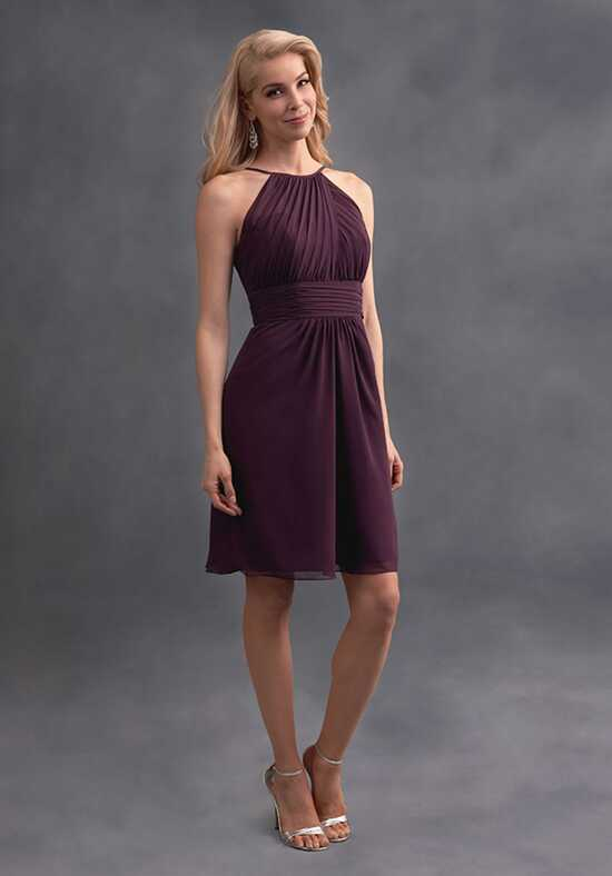 Alfred Angelo Signature Bridesmaids Collection 7401S Halter Bridesmaid Dress