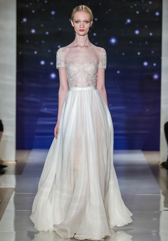 Reem Acra She's My Dream A-Line Wedding Dress