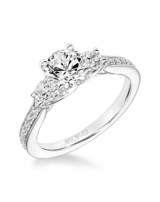 ArtCarved Classic Cut Engagement Ring