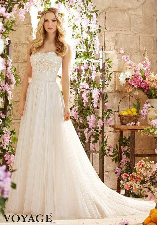 Voyage by Madeline Gardner 6801 Wedding Dress photo