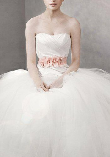 White by Vera Wang VW351007 Ball Gown Wedding Dress