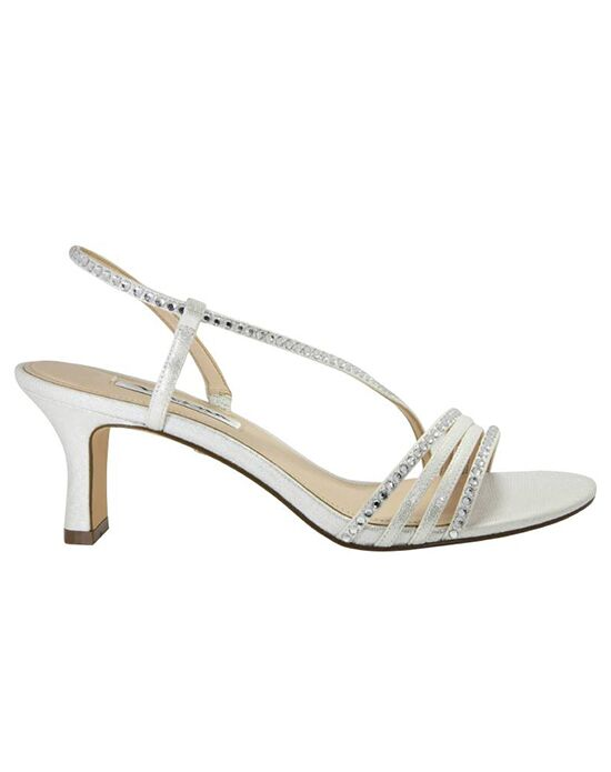 Nina Bridal Wedding Accessories Gerri_Silver Silver Shoe