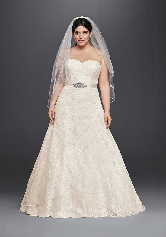 David's Bridal David's Bridal Collection Style 9WG3805 A-Line Wedding Dress