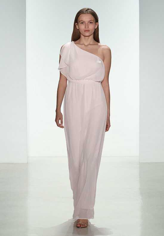 Nouvelle Amsale Bridesmaids N313 One-Shoulder Bridesmaid Dress