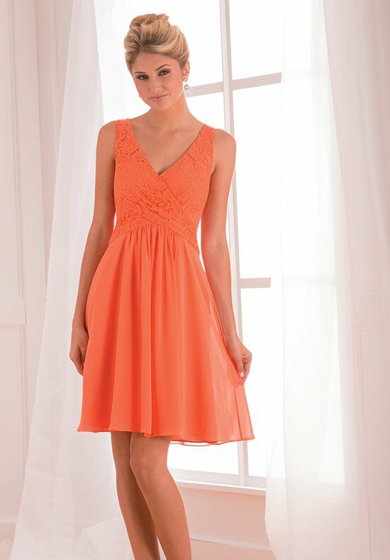 B2 by Jasmine B173009 V-Neck Bridesmaid Dress