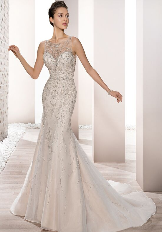 Demetrios 696 Sheath Wedding Dress