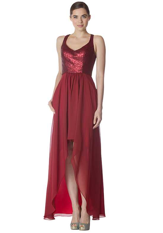 Bari Jay Bridesmaids 1756 Scoop Bridesmaid Dress
