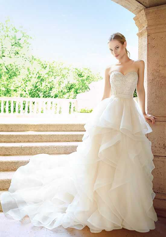 Simply Val Stefani S2015 Top/S2025 Skirt Ball Gown Wedding Dress