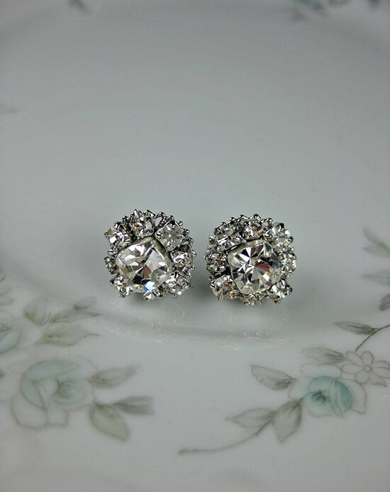 Everything Angelic Frankie Post Earrings - e363 Wedding Earring photo