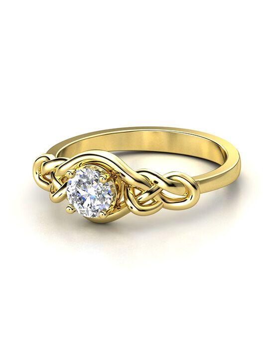 Gemvara   Customized Engagement Rings Sailoru0027s Knot Ring Gold Wedding Ring