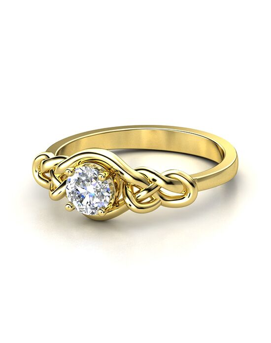 gemvara customized engagement rings sailors knot ring gold wedding ring - Customized Wedding Rings