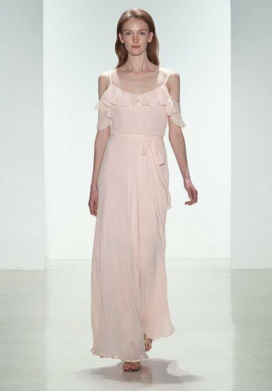 Nouvelle Amsale Bridesmaids N326 Off-the-Shoulder Bridesmaid Dress