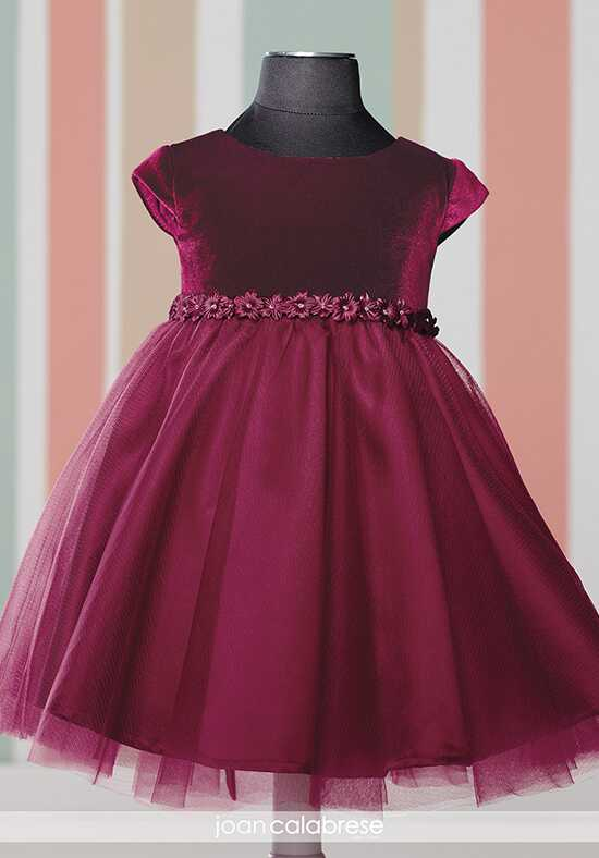 Joan Calabrese by Mon Cheri 216327B Red Flower Girl Dress