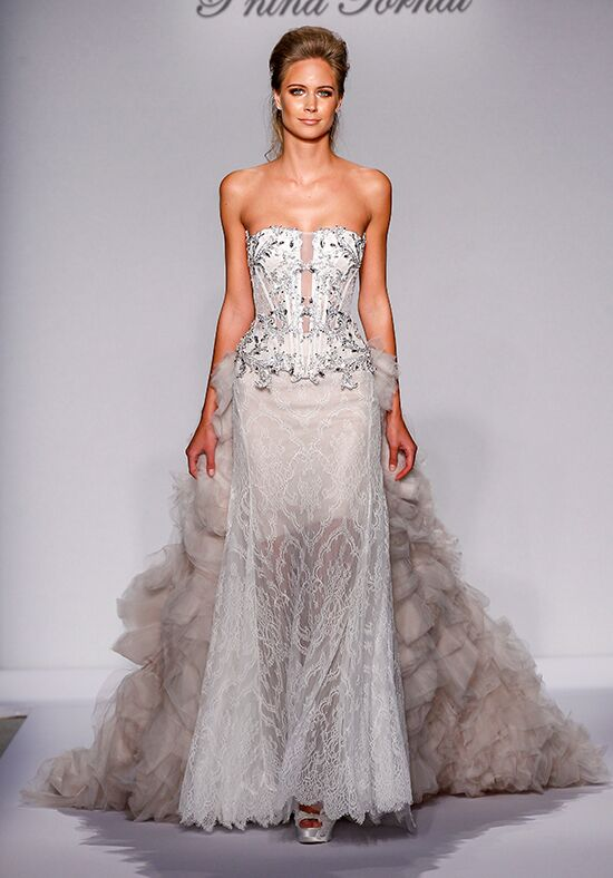 Pnina Tornai for Kleinfeld 4463 Mermaid Wedding Dress