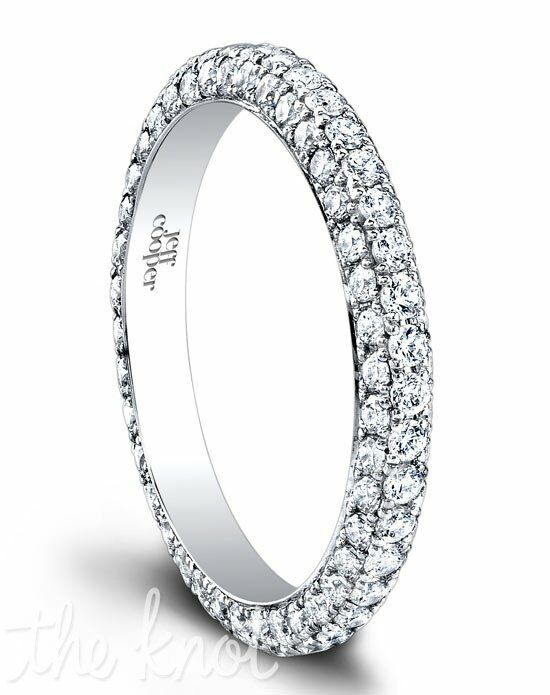 Jeff Cooper 1500/E Platinum, White Gold Wedding Ring