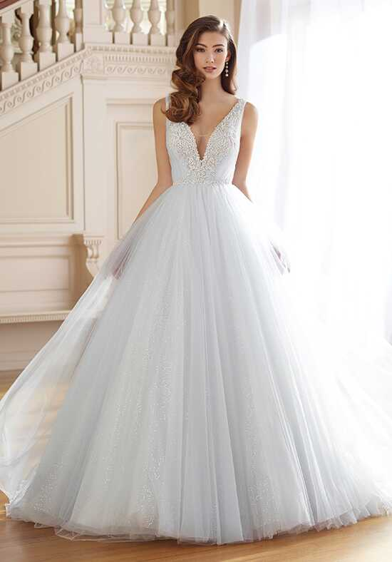 David Tutera for Mon Cheri 217217 Rena Ball Gown Wedding Dress