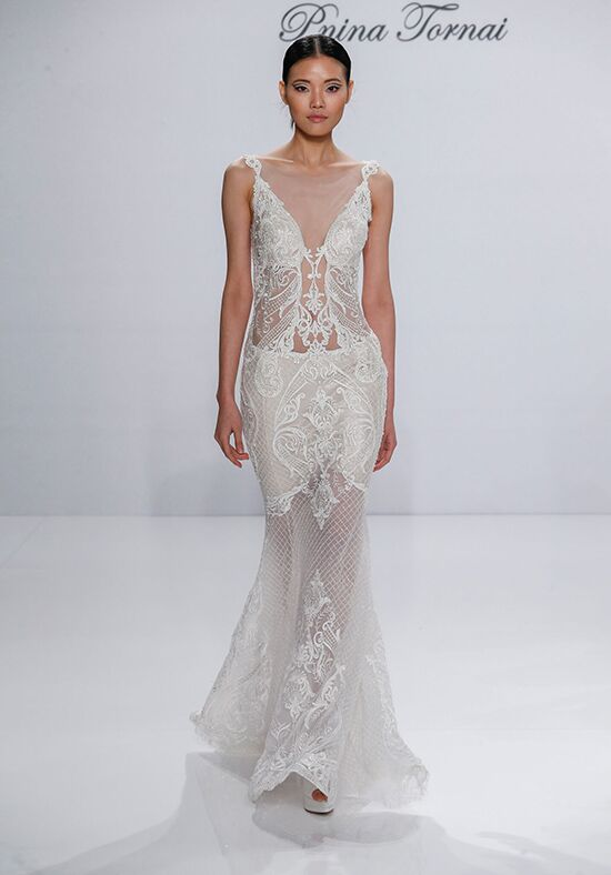 Pnina Tornai For Kleinfeld 4357 Wedding Dress