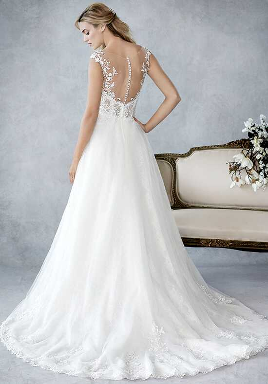 Kenneth Winston: Ella Rosa Collection BE435 A-Line Wedding Dress