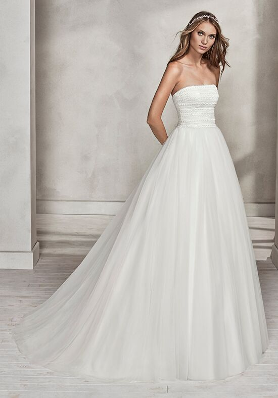 Luna Novias HERMIA Ball Gown Wedding Dress