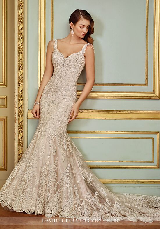 David Tutera For Mon Cheri 117288 Ophira Mermaid Wedding Dress