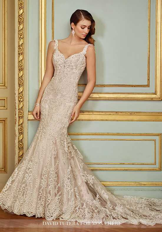 David Tutera for Mon Cheri 117288 Ophira Mermaid Wedding Dress
