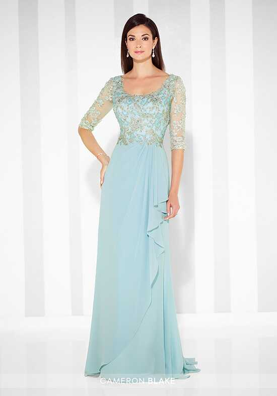 Cameron Blake 117612 Blue Mother Of The Bride Dress