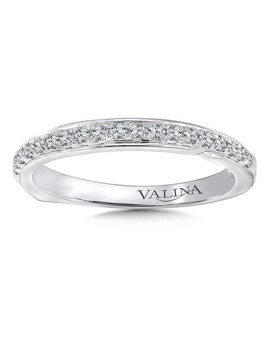 Valina R9657BW White Gold Wedding Ring