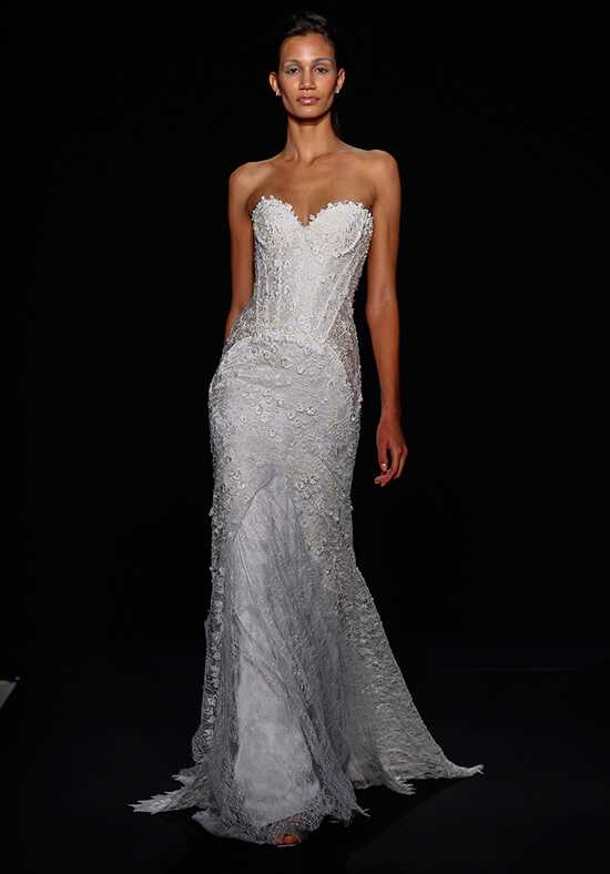 Mark Zunino for Kleinfeld 157 Sheath Wedding Dress
