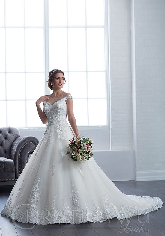 Christina Wu 15657 Ball Gown Wedding Dress