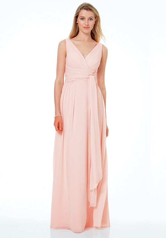 Bill Levkoff 1502 V-Neck Bridesmaid Dress