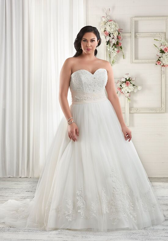 Unforgettable by Bonny Bridal 1613 A-Line Wedding Dress