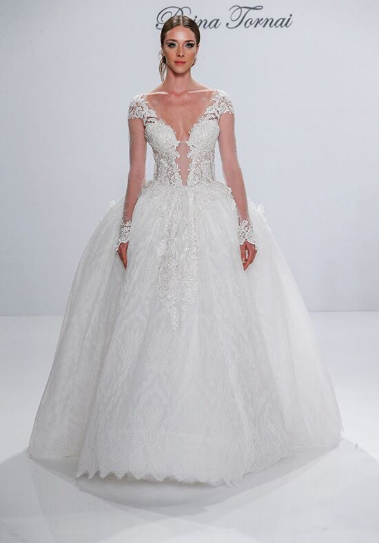 Pnina Tornai for Kleinfeld 4533 Ball Gown Wedding Dress