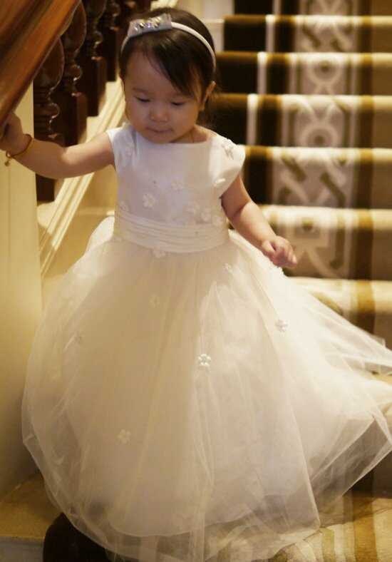 Eden Princess 12385 Ivory Flower Girl Dress